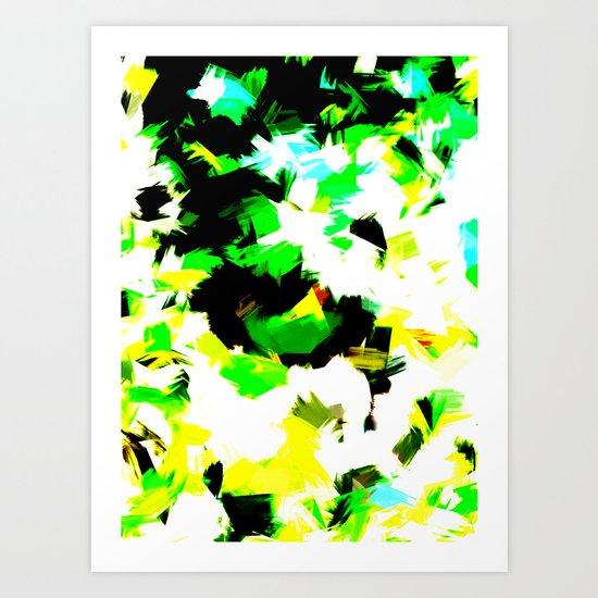 BLOSSOMS - COLORS Art Print