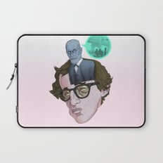 Id, Ego & Superego of Woody Allen Laptop Sleeve