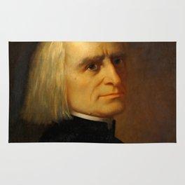 Franz Liszt (1811-1886) by Carl Ehrenberg in 1868 Rug