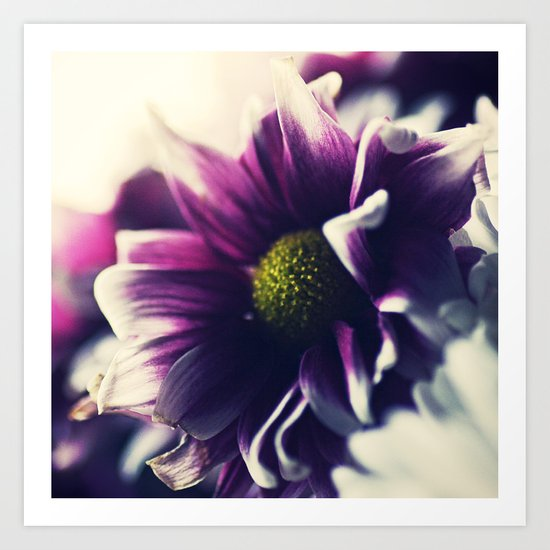 Mother's Day Purple Flower Art Print