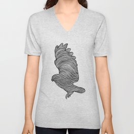 THE OWL Unisex V-Neck