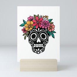 Sugar Skull Mini Art Print