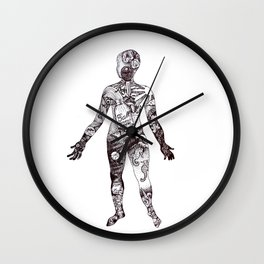 Cabinet of Curiosity Figure Collective Collection Wall Clock