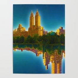 Fantasy City New York Gift Poster