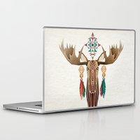 moose Laptop & iPad Skins featuring moose by Manoou