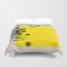 grayellow_mood Duvet Cover