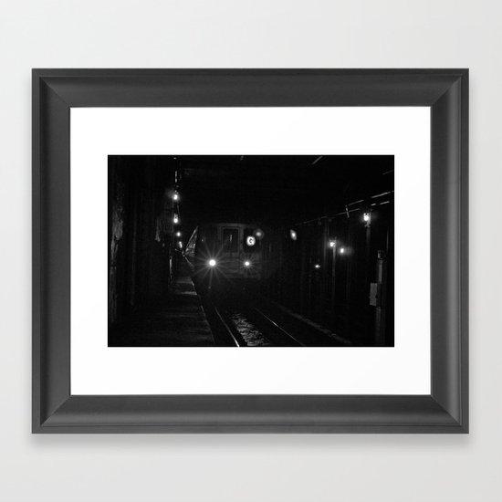 G Way Framed Art Print