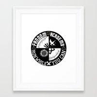 fandom Framed Art Prints featuring Ultimate Fandom Academy by Thg Fashion