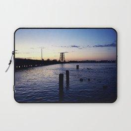 Looking at the Bridge after Sunset, Stuart, Florida Laptop Sleeve