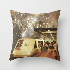 Enter the night  Throw Pillow