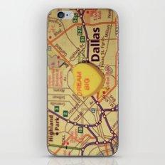 Dream Big Dallas iPhone & iPod Skin