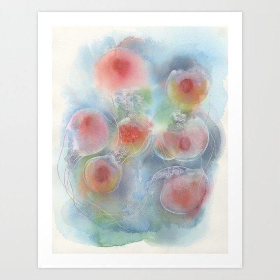 Floating No.1 Art Print