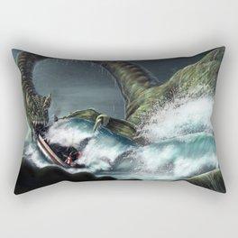 Nessie Commission Rectangular Pillow