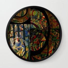 Mayan series 14 Wall Clock