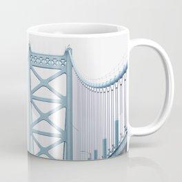 The Ben Franklin Bridge Coffee Mug