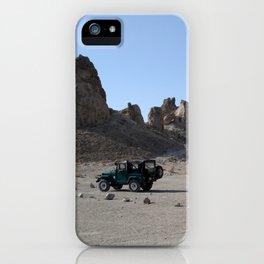 Escaping Megapolis iPhone Case