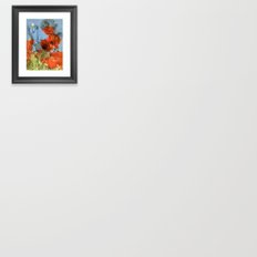 Chine colle Framed Art Print