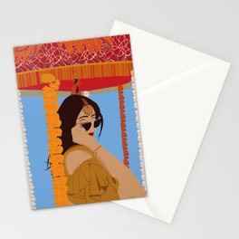 Quarantine Queen Stationery Cards
