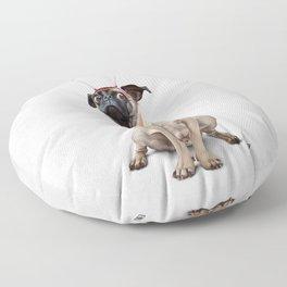 A Pug's Life Floor Pillow