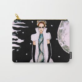 Ethereal Beauty Fashion Illustration By James Thomas Ryan Carry-All Pouch