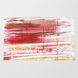 Lavender blush abstract watercolor Rug