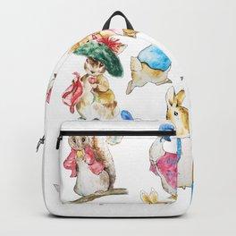 Tales of Peter Rabbit  characters Beatrix Potter Backpack