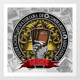 F.E.C.A. Art Print