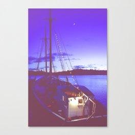 Twilight Sea Canvas Print