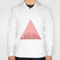 triangle Hoodies featuring Triangle by Jackson Todd