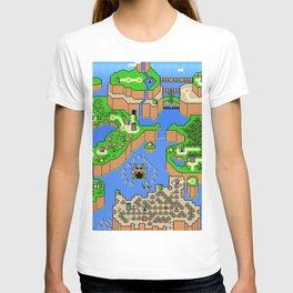 The World of Super Mario T-shirt
