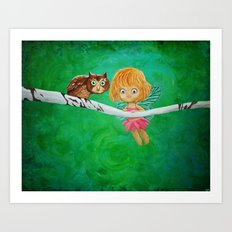 Little Fairy Art Print
