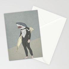SHARK SURFER Stationery Cards