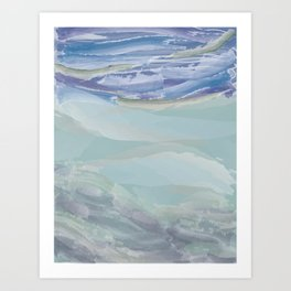 Sky & Sea Art Print