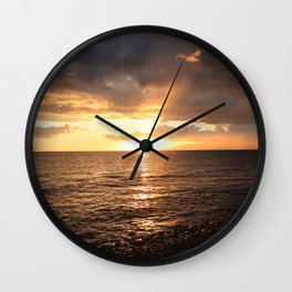 Good night sun! Wall Clock