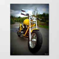 harley Canvas Prints featuring Harley by elkart51
