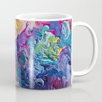 notebook Mugs featuring Guardian's Notebook by Tanya Shatseva