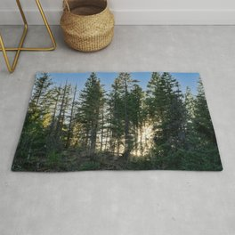 Lassen Forest Sundown Rug