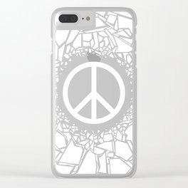 Peacebreaker II Clear iPhone Case