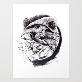 Eileen the Crow Art Print