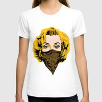 gangster T-shirts featuring Gangster Lady by UrbanCandy