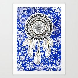 Dreamcatcher Mandala Art Print