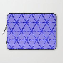 Blue on Blue Laptop Sleeve