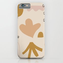 growth pattern iPhone Case