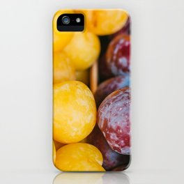 Colorful fruit street photography Utrecht  iPhone Case