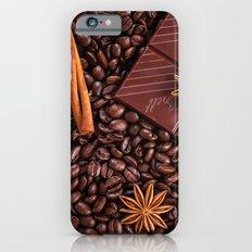 coffee, chocolate and cinnamon Slim Case iPhone 6s