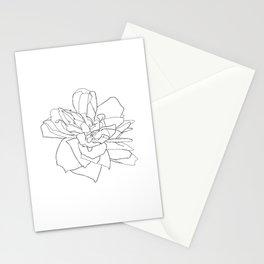 Single rose illustration - Magda Stationery Cards