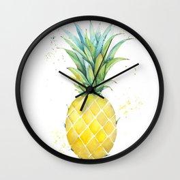 A Cool Pineapple Wall Clock