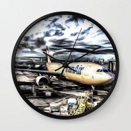 Iran Air Airbus A330 Art Wall Clock