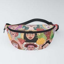 the colors of women Fanny Pack