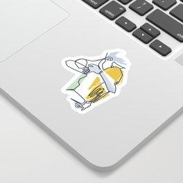 Fusion One Sticker